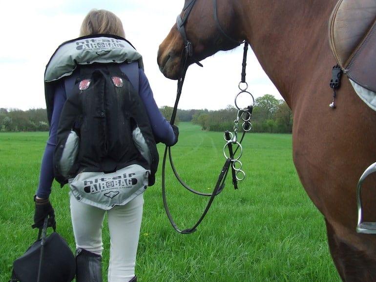 Hit Air Equestrian Airbag Vest