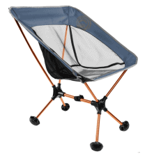 Wildhorn Outfitters Portable and Lightweight Hiking Chair Deep Blue and Copper