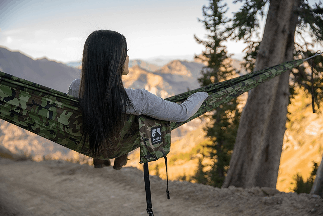 Wildhorn Outfitters Camping/Hiking Hammock in Camo material