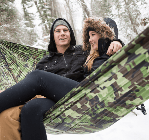 Wildhorn Outfitters Outpost II Hammock Double Woodland Camo
