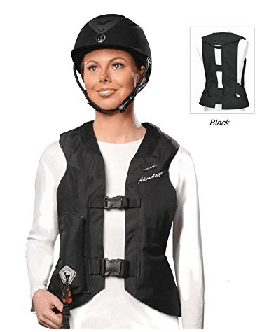 Hit Air Advantage Airbag Vest buckles option