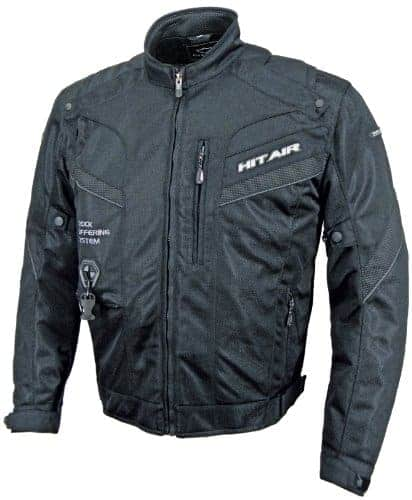 Hit Air Airbag Jacket MX7 Black