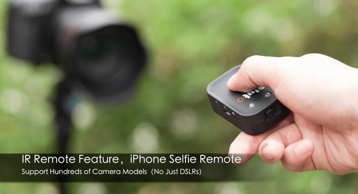 Pluto Trigger Camera Remote IR Remote for iphone selfies