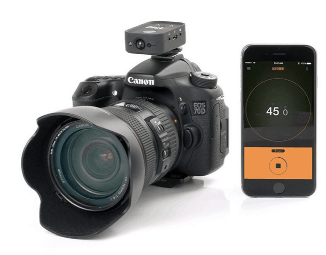 Pluto Trigger Camera Remote - with Canon camera and smart phone app