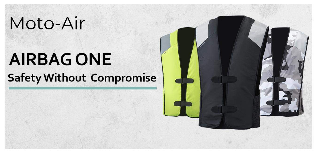 2019 MotoAir Motorcycle Airbag Vest – Safety That's Affordable