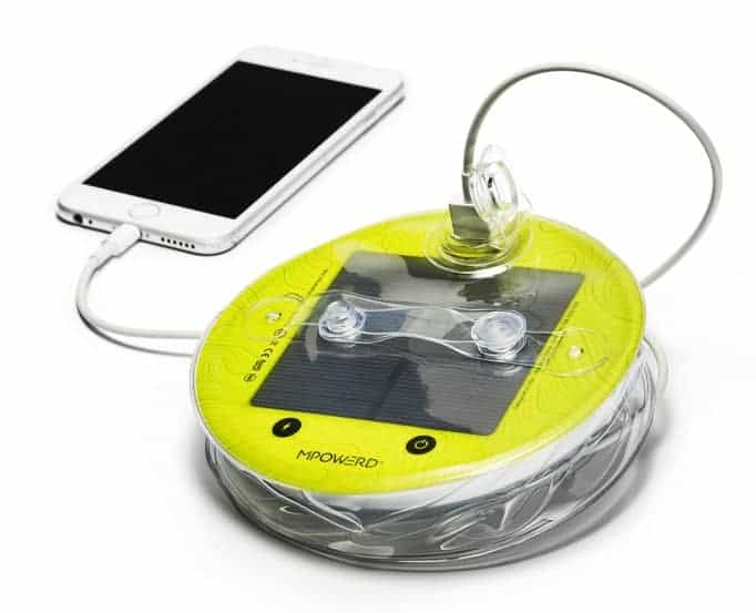 Charging Luci Solar Light charging