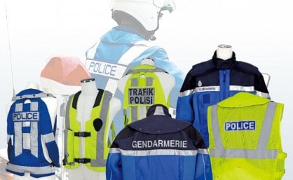 Hit Air Airbag Vests for Police