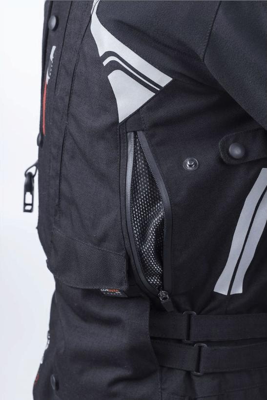 Helite Adventure Jacket Back Vents