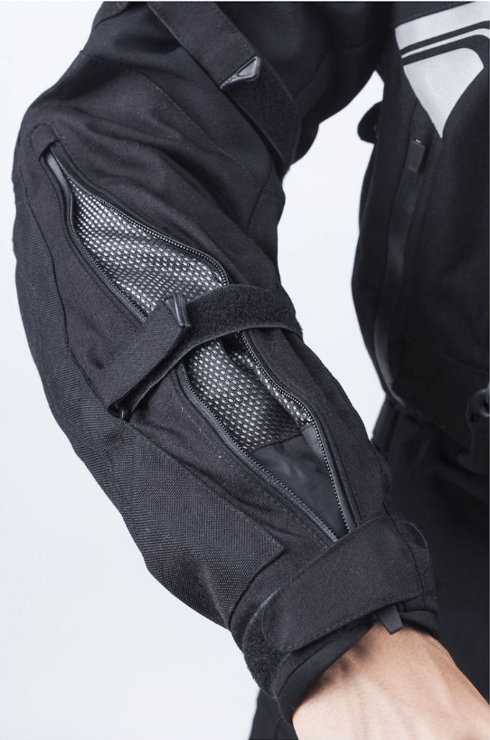 Helite Adventure Jacket Forearm Vents