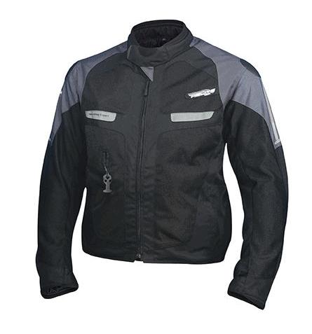Helite Free Air Mesh Airbag Jacket Black Front
