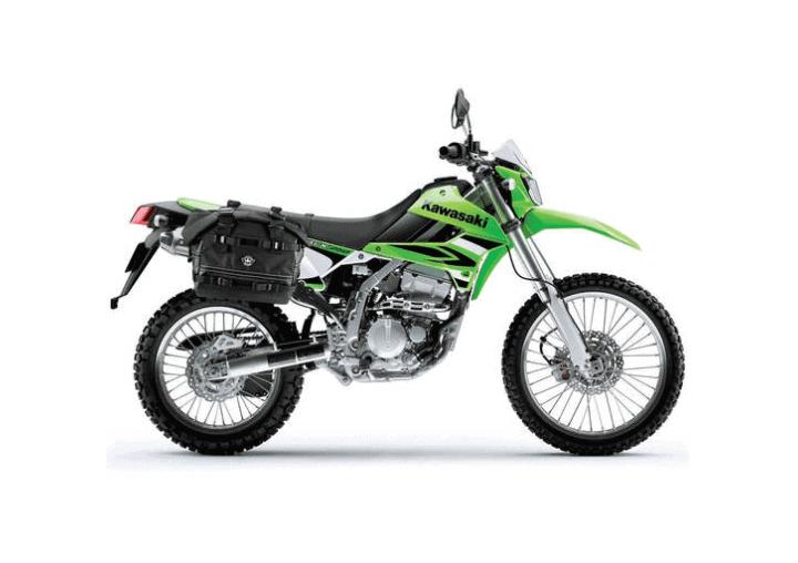 Large Black Dirt Bike/Enduro Saddlebags