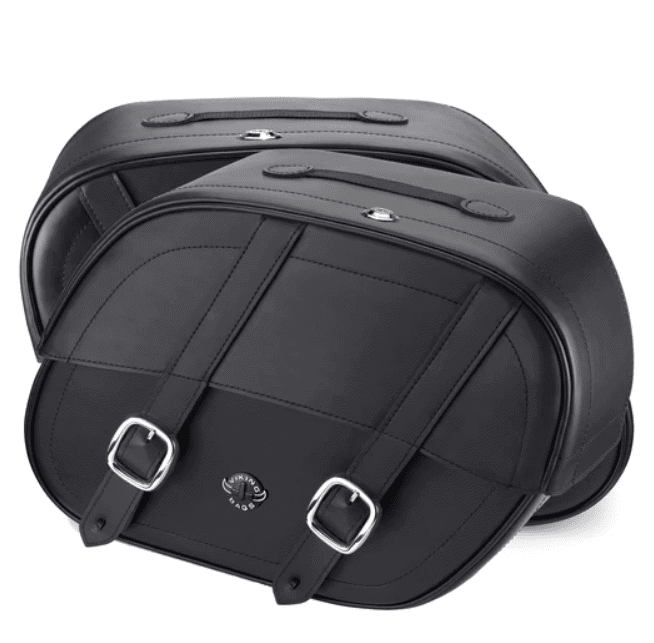 Viking Lockable Saddlebags with Buckle