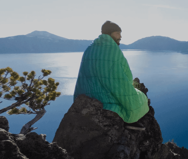 A Rumpl Blanket will keep you warm wherever you are