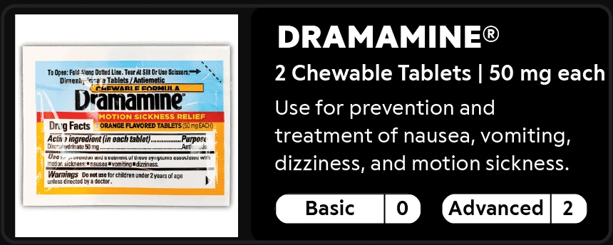 Dramamine 0-2