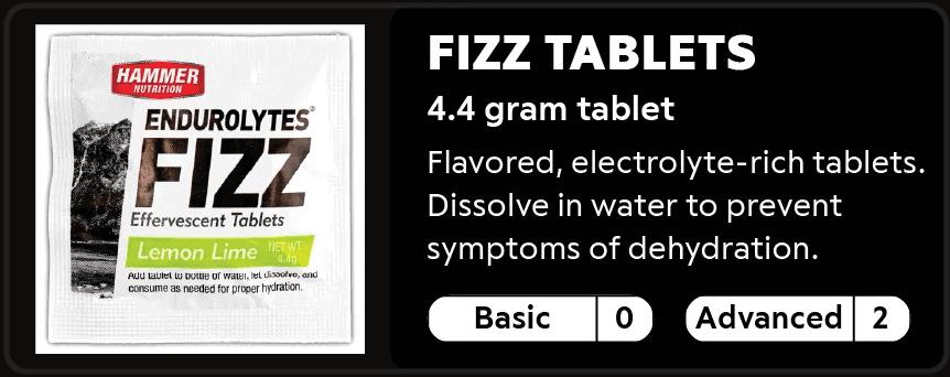 Fizz Tablets 0-2