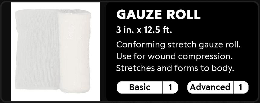 Gauze Roll 1-1
