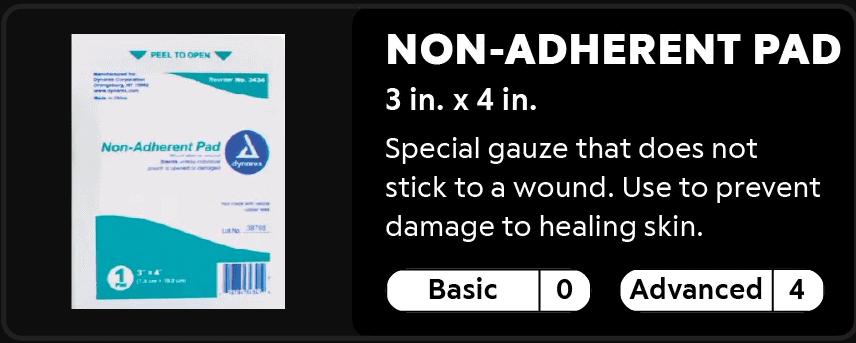 Non-Adherent Pad
