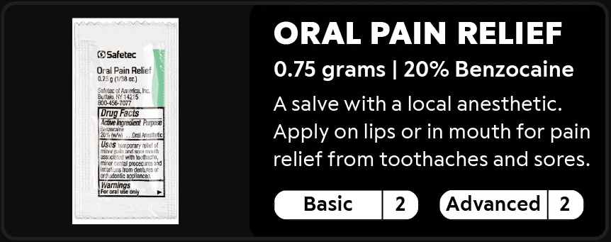 Oral Pain Relief 2-2