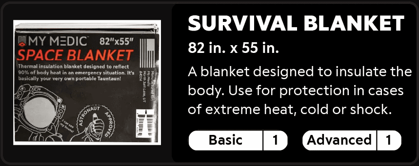 Survival Blanket 1-1