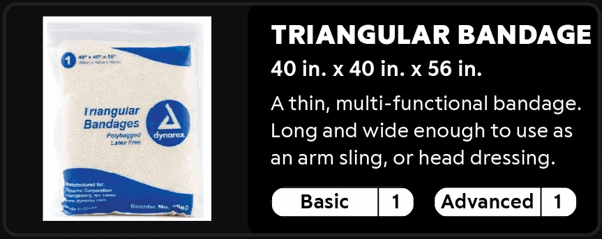 Triangular Bandage 1-1